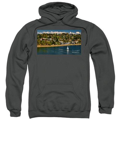 Commencement Bay,washington State Sweatshirt