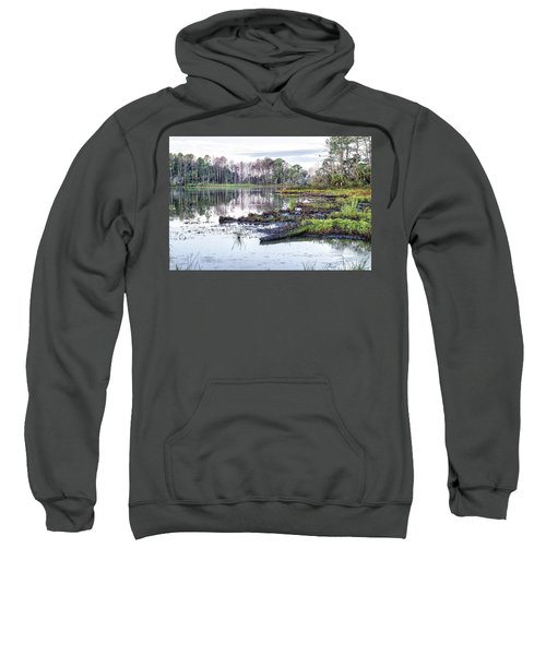 Coosaw - Early Morning Rice Field Sweatshirt