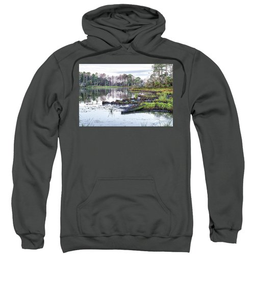 Coosaw - Early Morning Rice Field Sweatshirt