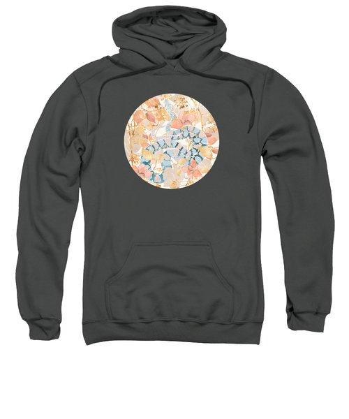 Coral Spring Garden Sweatshirt