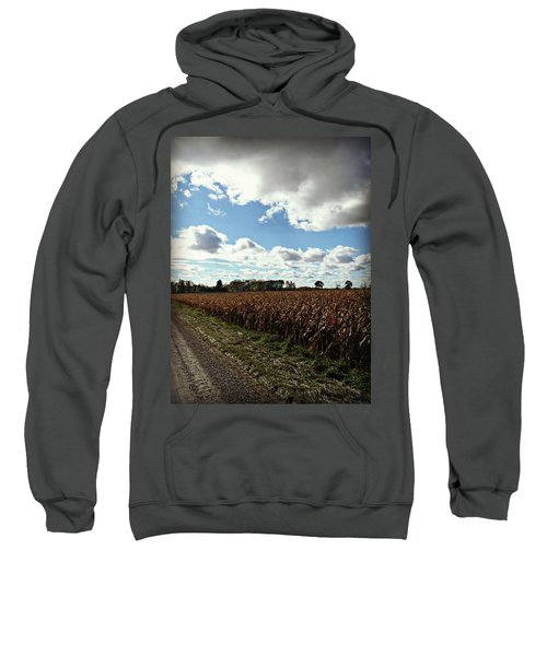 Country Autumn Curves 2 Sweatshirt