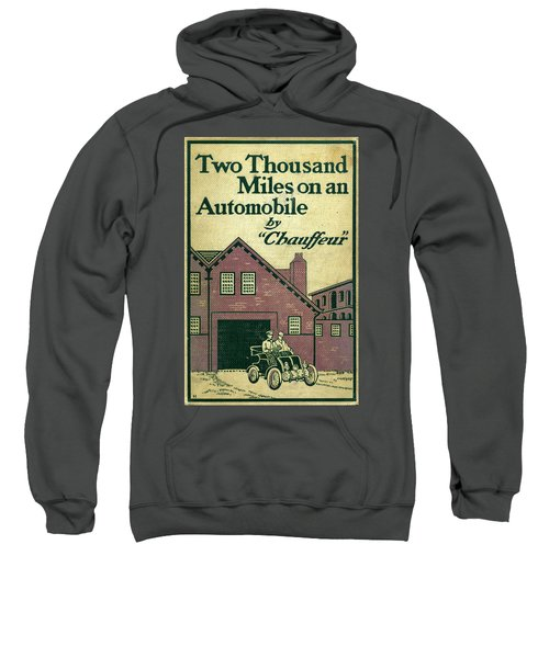 Cover Design For Two Thousand Miles On An Automobile Sweatshirt