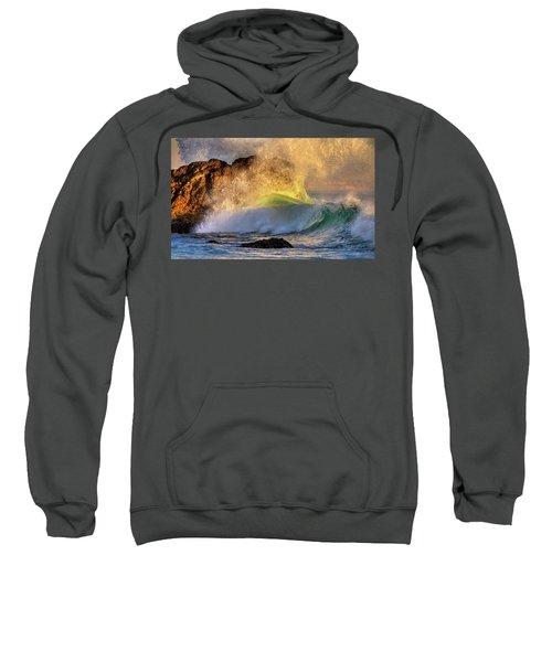 Crashing Wave Leo Carrillo Beach Sweatshirt