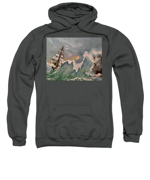 Crashing Waves Sweatshirt