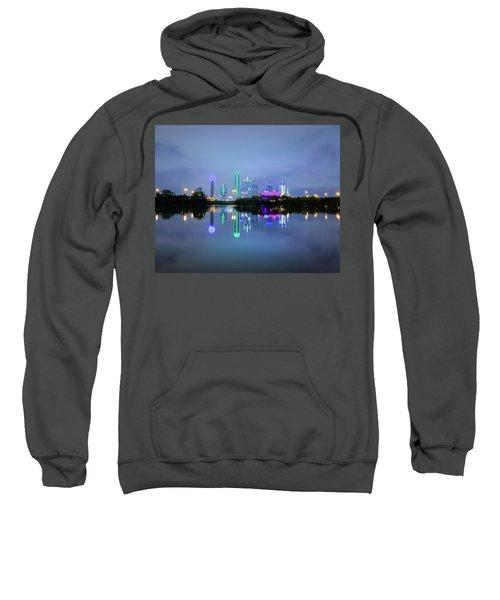 Dallas Cityscape Reflection Sweatshirt