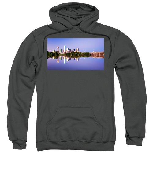Dallas Texas Houston Street Bridge Sweatshirt