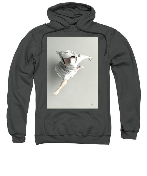 Dance On White Sweatshirt