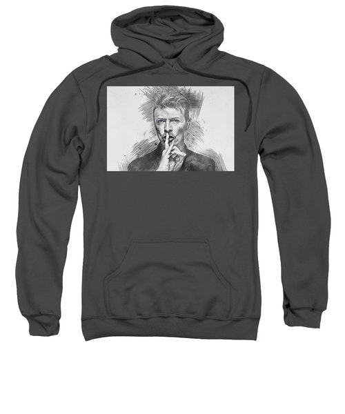 David Bowie. Sweatshirt