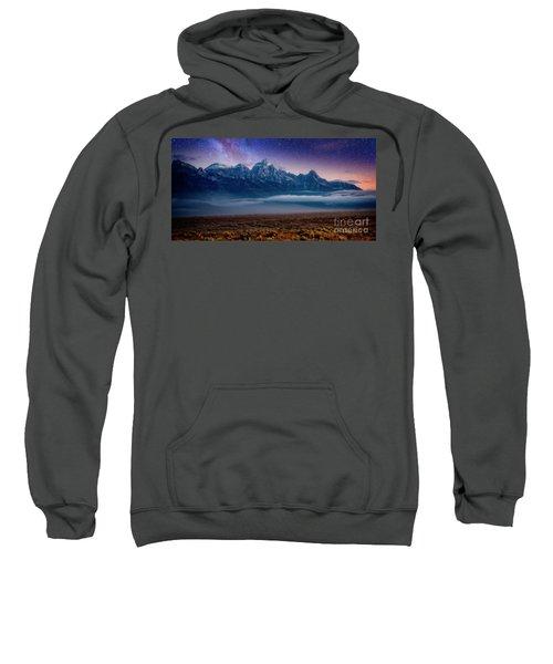 Sweatshirt featuring the photograph Dawn Breaks by Scott Kemper