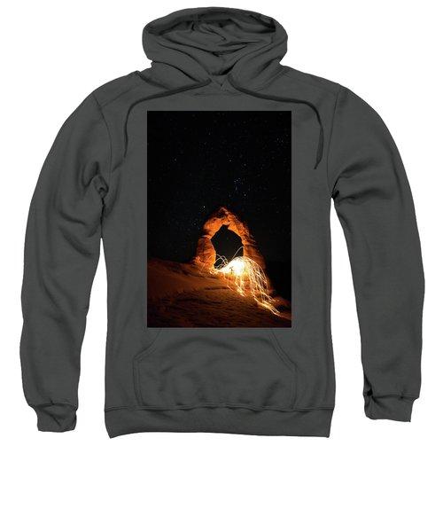 Delicate Arch Steel Wool Sweatshirt