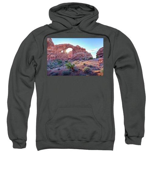 Desert Sunset Arches National Park Sweatshirt