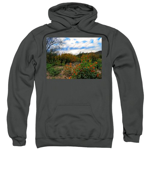 Desert Wildflowers In The Valley Sweatshirt