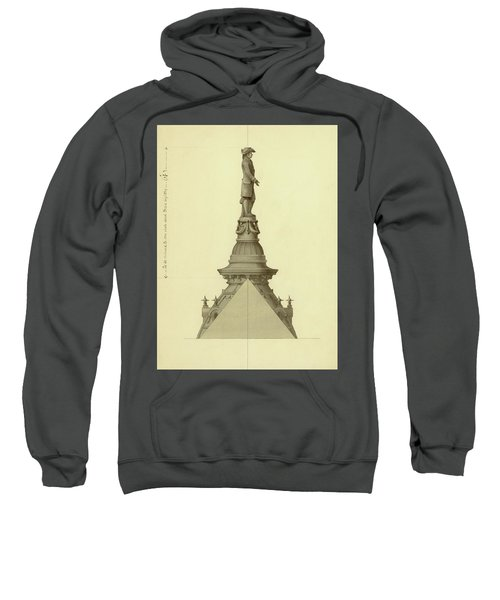 Design For City Hall Tower Sweatshirt