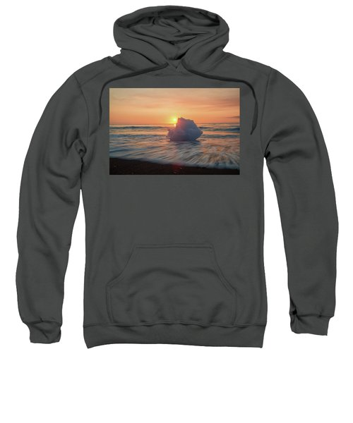 Diamond Beach Sunrise Iceland Sweatshirt