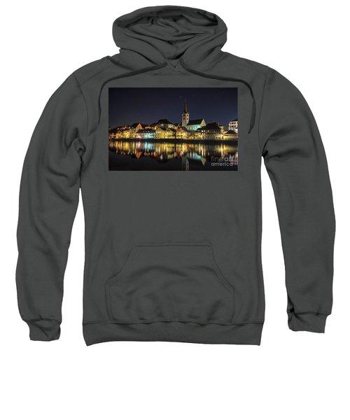 Dissenhofen On The Rhine River Sweatshirt