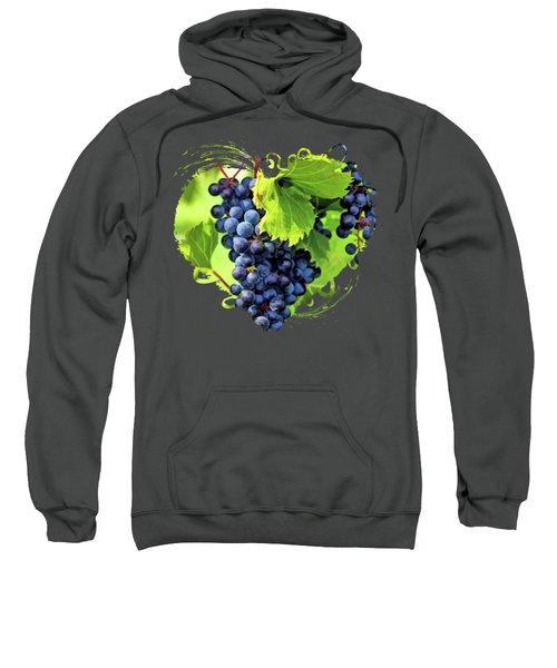 Door County Grape Cluster Sweatshirt