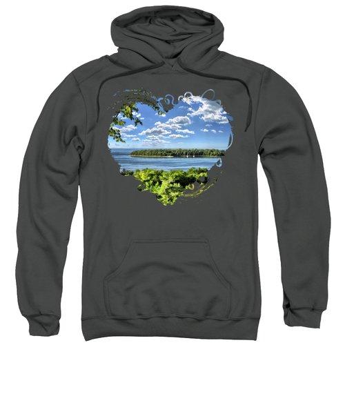 Door County Horseshoe Island Sweatshirt