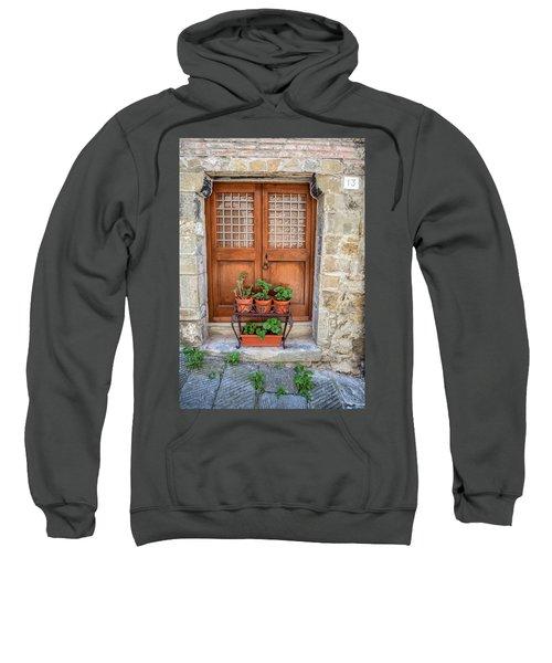 Door Thirteen Of Tuscany Sweatshirt