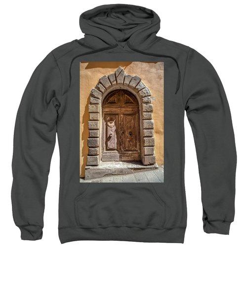 Door Thirty Two Of Tuscany Sweatshirt