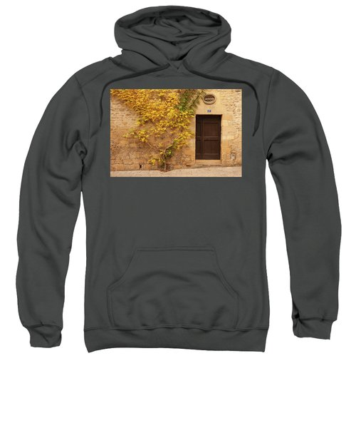 Doorway, Sarlat, France Sweatshirt