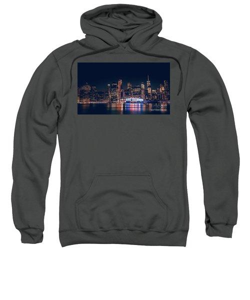 Downtown At Night Sweatshirt