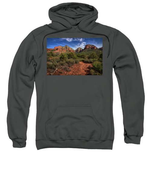 Dramatic Cloudscape Over Capitol Butte Sweatshirt