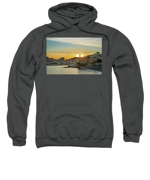 Dubrovnik Old Town At Sunset Sweatshirt