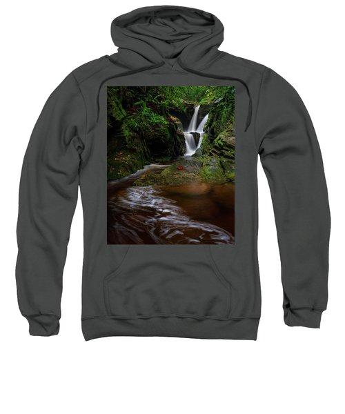 Duggers Creek Falls - Blue Ridge Parkway - North Carolina Sweatshirt