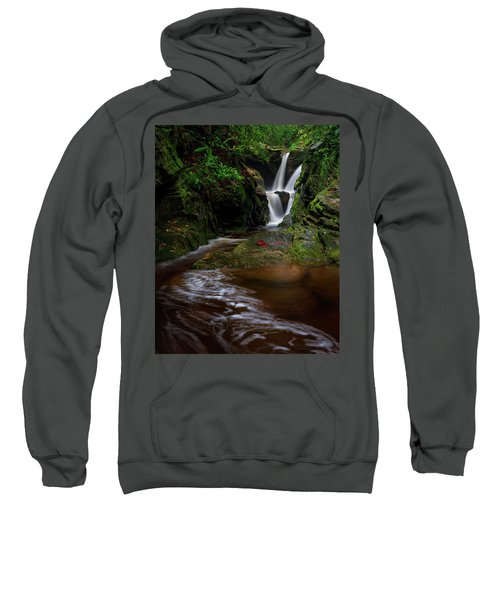 Duggers Creek Falls - Blue Ridge Parkway - North Carolina Sweatshirt