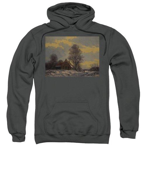 Dutch Snow Landscape Sweatshirt