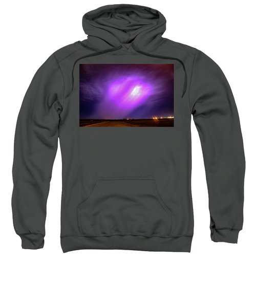 Dying Late Night Supercell 016 Sweatshirt