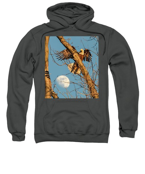 Eagle And Moon  Sweatshirt