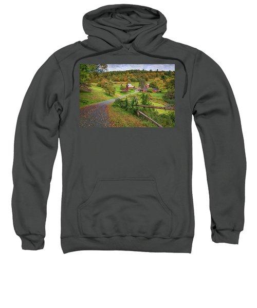 Early Fall At Sleepy Hollow Farm Sweatshirt