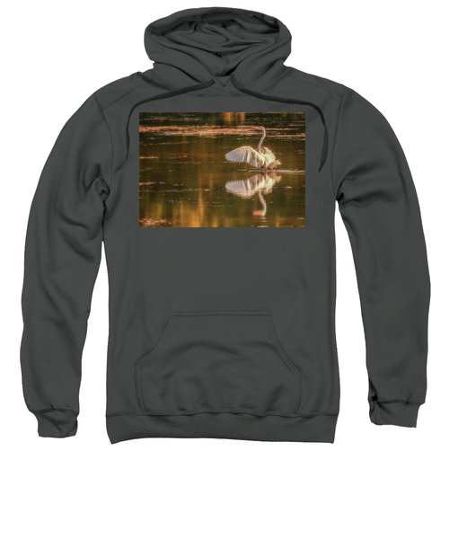 Egret Reflections 2 Sweatshirt