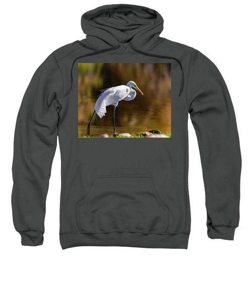 Egret Yoga Sweatshirt