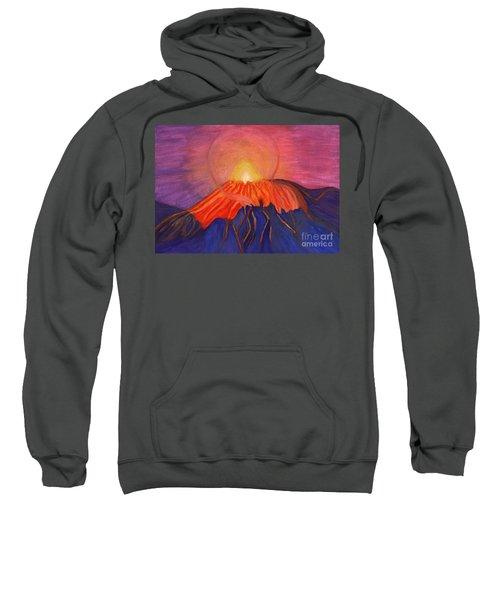 Glow Fading Volcano Sweatshirt
