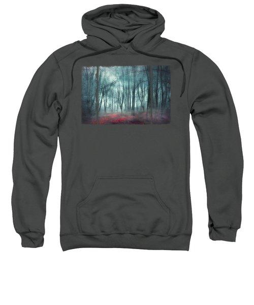 Escape Route - Misty Forest Scenery Sweatshirt