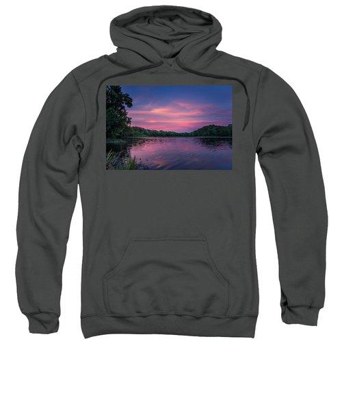 Evening At Springfield Lake Sweatshirt