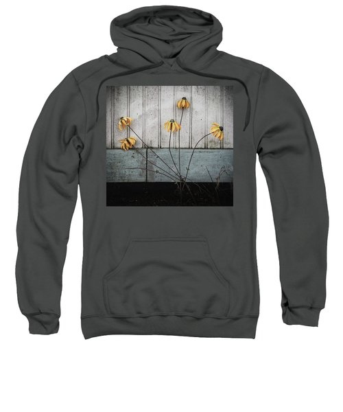 Fake Wilted Flowers Sweatshirt