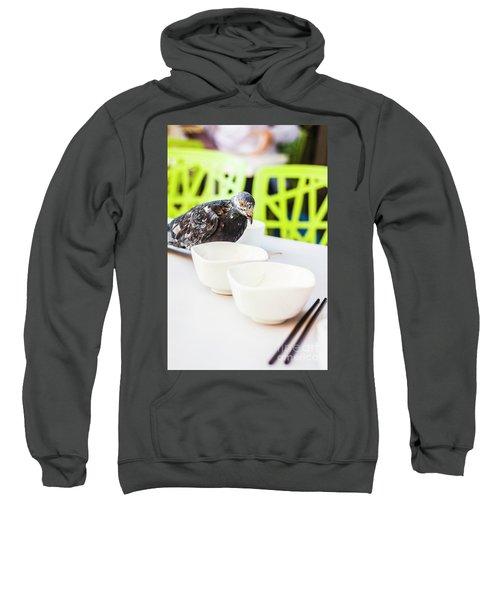 Fast Food Asian Pigeon Sweatshirt