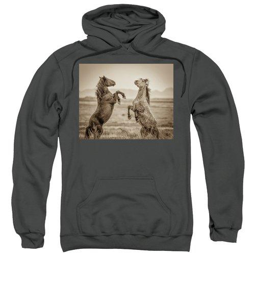 Fighting Stallions 2 Sweatshirt