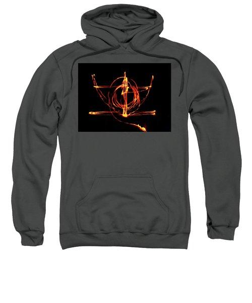 Fire Light Drawing Sweatshirt