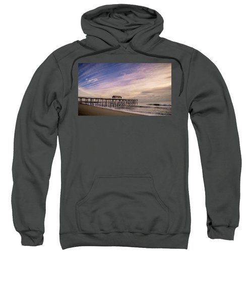 Fishing Pier Sunrise Sweatshirt