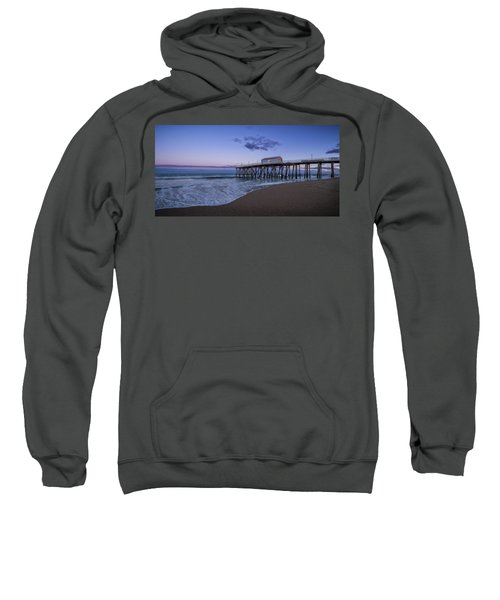 Fishing Pier Sunset Sweatshirt