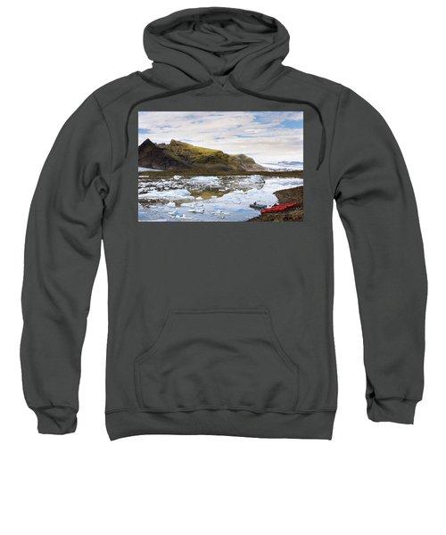 Fjallsarlon Glacier Lagoon #2 Sweatshirt