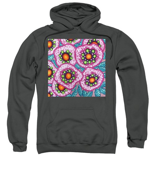 Floral Whimsy 10 Sweatshirt