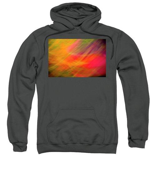 Flowers In Abstract Sweatshirt