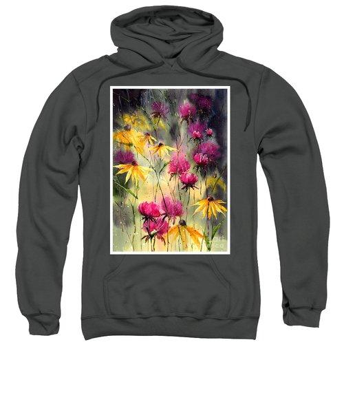 Flowers In The Rain Sweatshirt