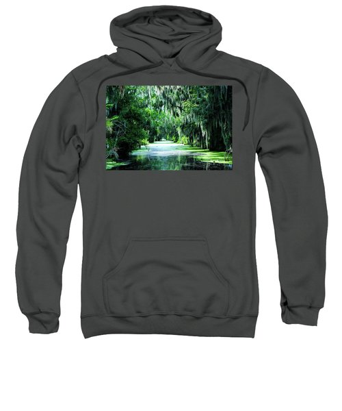 Flush With Green Sweatshirt