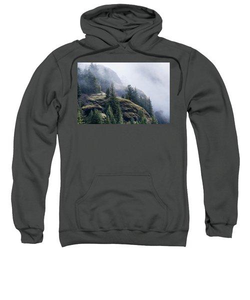 Foggy On Saddle Mountain Sweatshirt